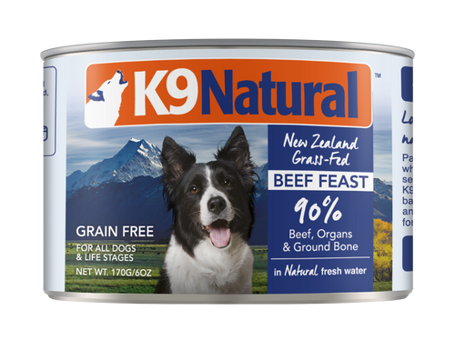 K9 Natural Canned Food 170g THGS