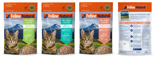 Feline Natural Freeze Dried Cat Food 100g  THGS
