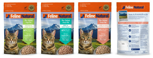 Feline Natural Freeze Dried Cat Food 320g  THGS