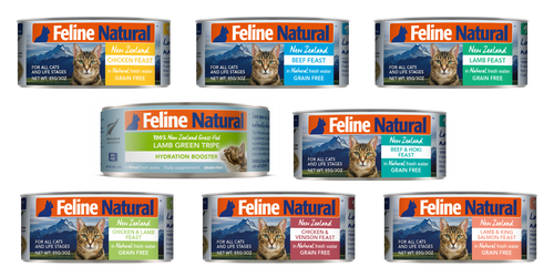 Feline Natural Canned Food 170g THGS