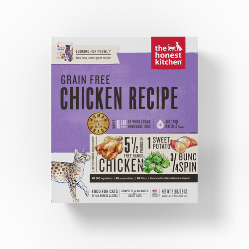 The Honest Kitchen Dehydrated Grain Free Chicken Recipe (Prowl) Cat Food