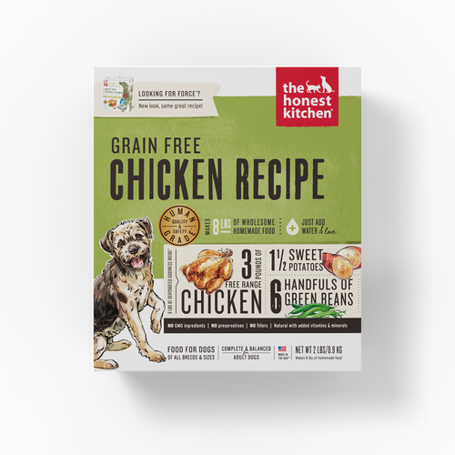 The Honest Kitchen Dehydrated Grain Free Chicken Recipe (Force) Dog Food