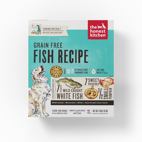 The Honest Kitchen Dehydrated Grain Free Fish Recipe (Zeal) Dog Food