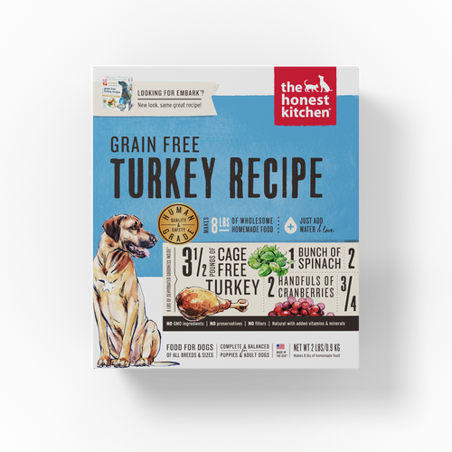 The Honest Kitchen Dehydrated Grain Free Turkey Recipe (Embark) Dog Food