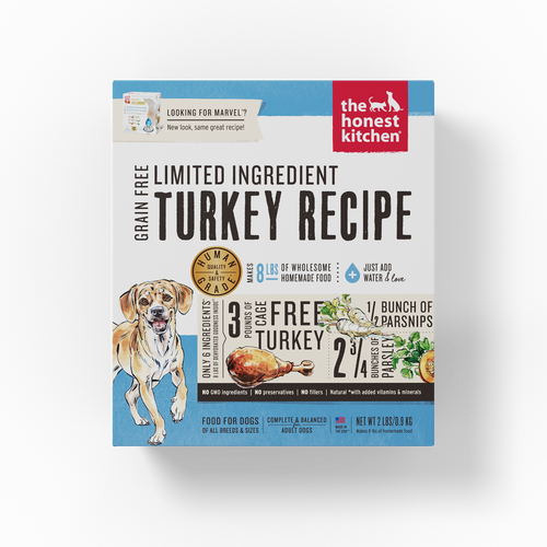 The Honest Kitchen Dehydrated Limited Ingredients Turkey Recipe (Marvel) Dog Food