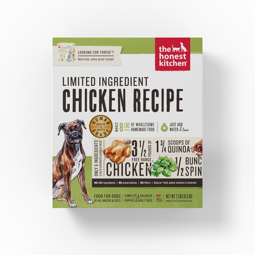 The Honest Kitchen Dehydrated Limited Ingredient Chicken Recipe (Thrive) Dog Food