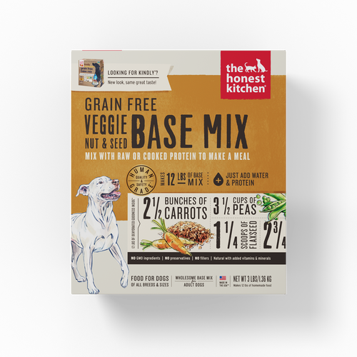 The Honest Kitchen Dehydrated Grain Free Nuts & Seeds Base Mix (Kindly) Dog Food