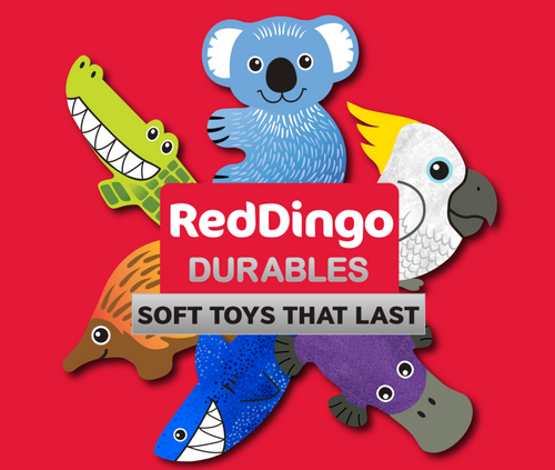 Red Dingo Durables Soft Toy