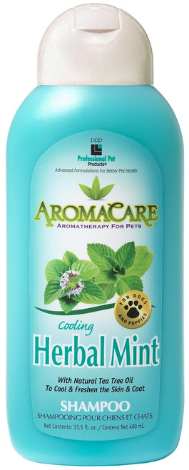 PPP Aromacare Cooling Herbal Mint Dog Shampoo