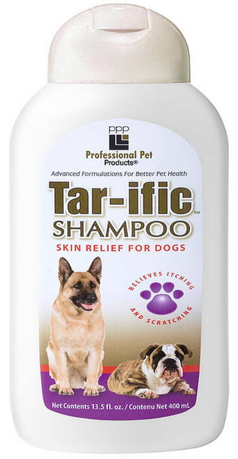 PPP Tar-ific Skin Relief Dog Shampoo