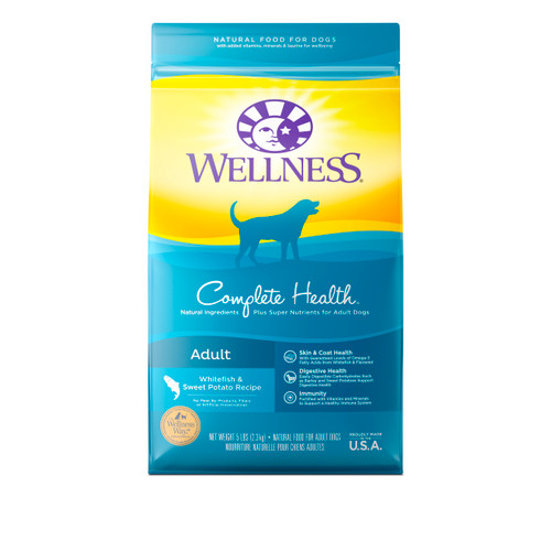 Wellness Complete Health Adult Dry Food (Whitefish and Sweet Potato)