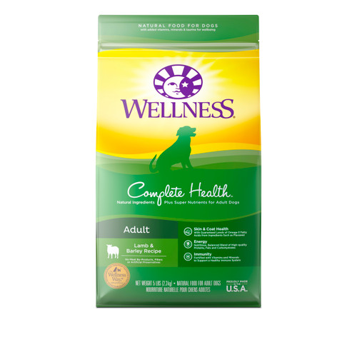 Wellness Complete Health Adult Dry Food (Lamb and Barley)