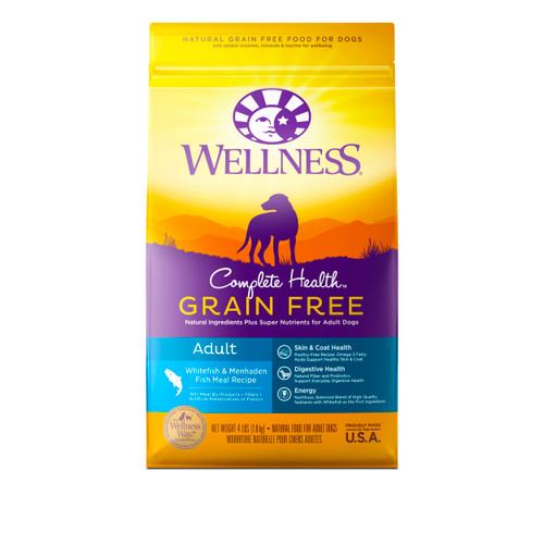 Wellness Complete Health Grain-Free Adult Dry Food (Whitefish & Menhaden Fish Meal)