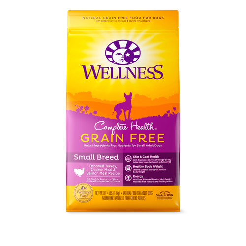Wellness Complete Health Grain-Free Small Breed Dry Food
