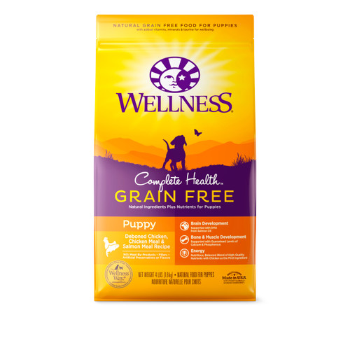 Wellness Complete Health Grain-Free Puppy Dry Food
