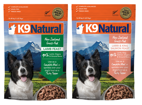 K9 Lamb Freeze Dried Dog Food
