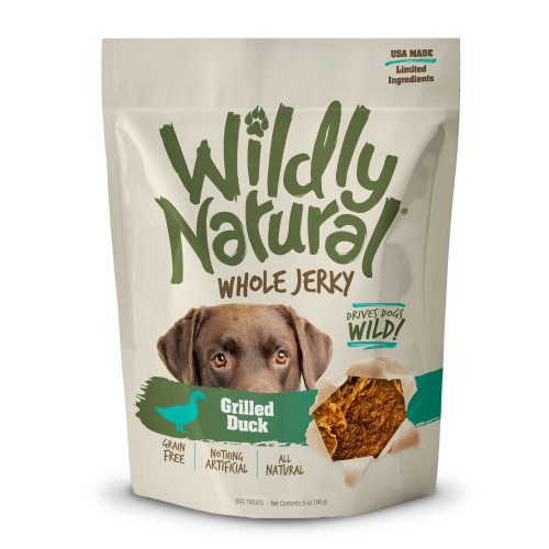 Fruitables Wildly Natural Whole Jerky Grilled Duck Treats 5oz