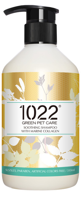 1022 Green Pet Care Soothing Shampoo