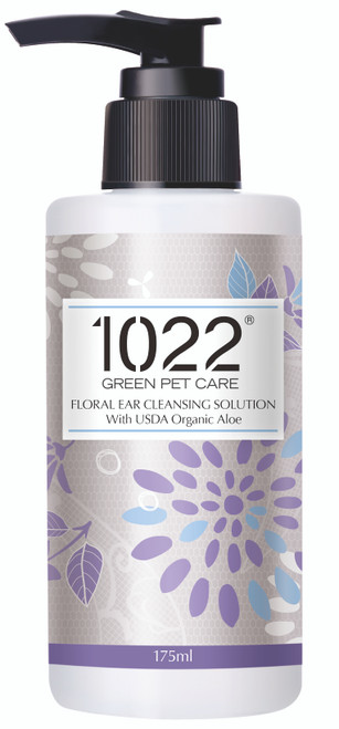 1022 Green Pet Care Floral Ear Cleansing Solution