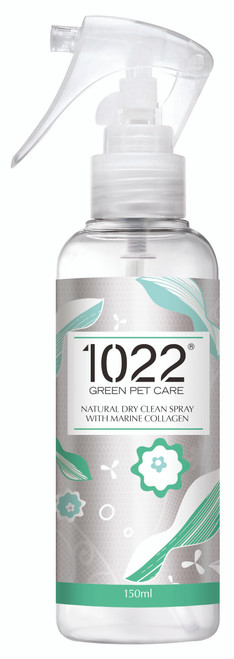 1022 Green Pet Care Natural Dry Clean Spray