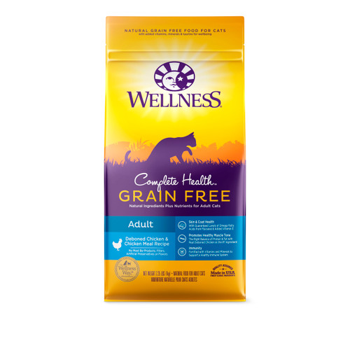Wellness Complete Health Grain-Free Adult Dry Food for cats