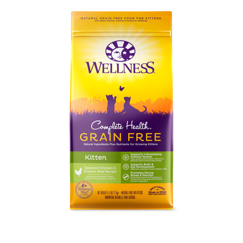 Wellness Complete Health Grain-Free Dry Food for Kittens