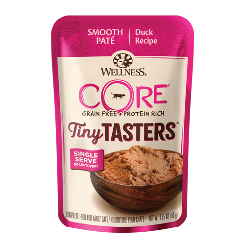 Wellness CORE® Tiny Tasters™ for Cats - Duck