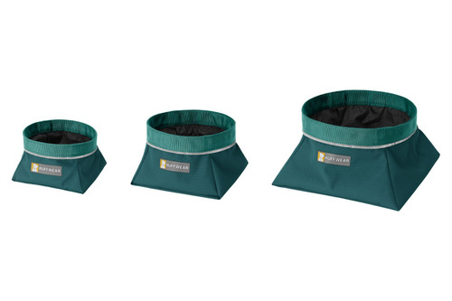 Ruffwear Quencher™ Collapsible Food & Water Bowl - Tumalo Teal
