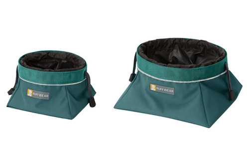 Ruffwear Quencher Cinch Top™ Collapsible Closeable Food & Water Bowl