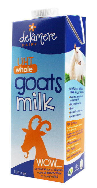 Delamere Dairy UHT Whole Goat Milk 1L