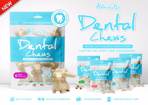 Altimate Pet Dental Chews Milk Treats