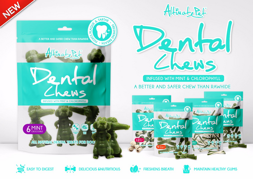Altimate Pet Dental Chews Mint Treats