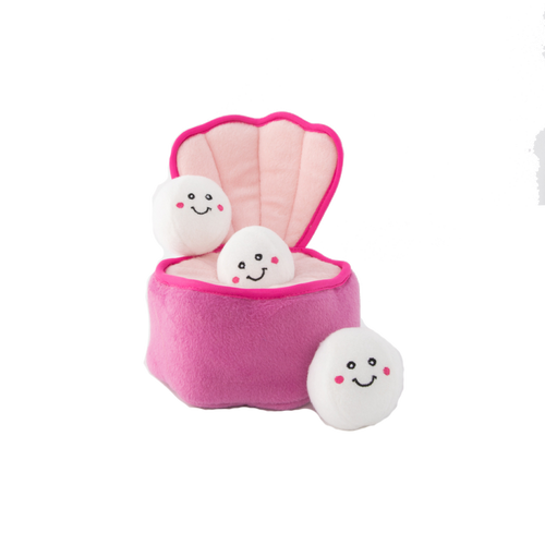 Zippypaws Burrow - Pearls in Oyster Toy