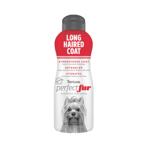 Tropiclean PerfectFur Long Haired Coat Shampoo For Dogs