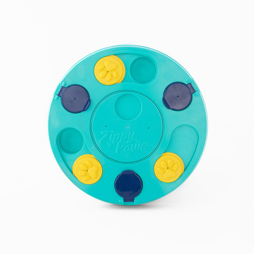 Zippypaws SmartyPaws Puzzler - Teal Slider Toy