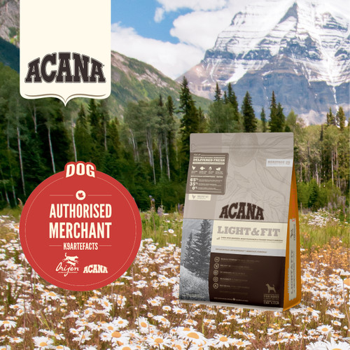 K9SHARE ACANA Heritage Light and Fit Dog