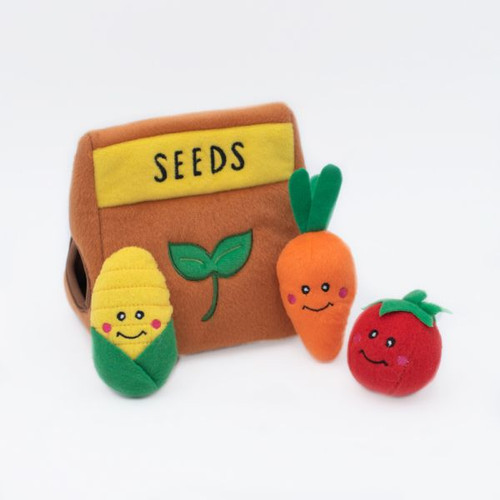 Zippypaws Burrow - Seed Packet Toy
