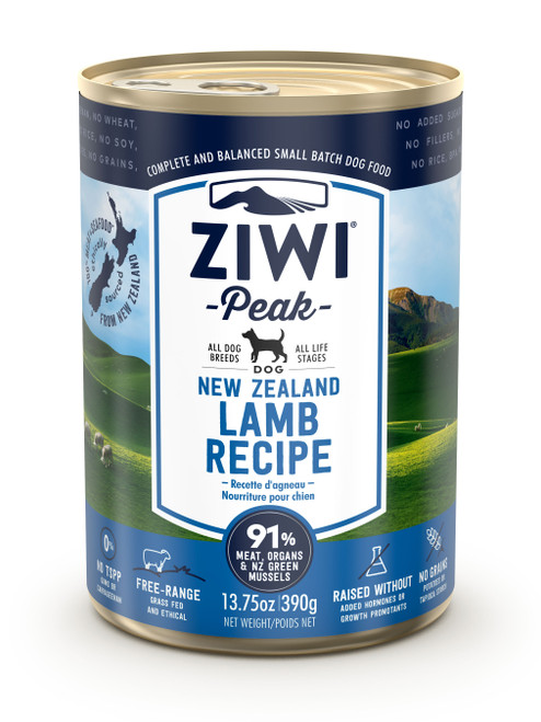 Buy 5 Free 1 ZIWI Peak Lamb Canned Dog Food