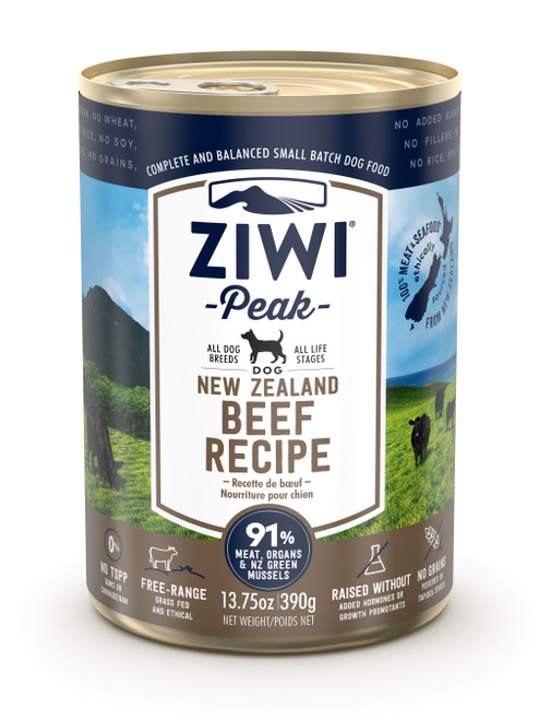 Buy 5 Free 1 ZIWI Peak Beef Canned Dog Food