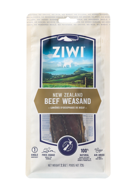 ZIWI Peak Air-Dried Beef Weasand Treats
