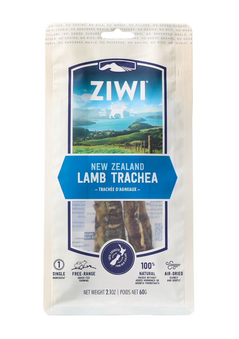 ZIWI Peak Air-Dried Lamb Trachea Treats