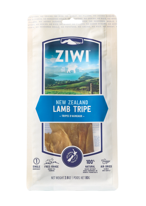 ZIWI Peak Air-Dried Lamb Tripe Treats