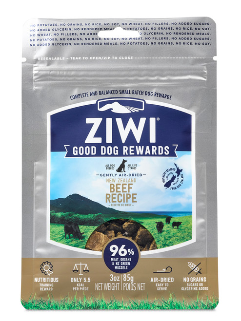 ZIWI Peak Good Dog Rewards Beef Pouch Treats