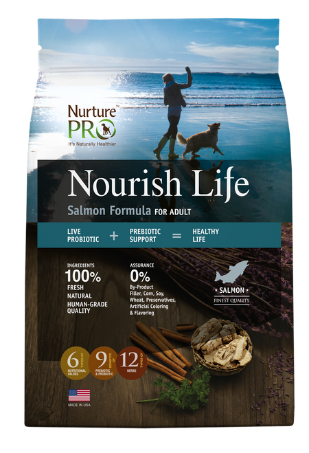 Nurture Pro Nourish Life Salmon Formula for Adult Dog