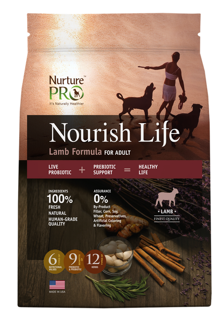 Nurture Pro Nourish Life Lamb Formula for Adult Dog