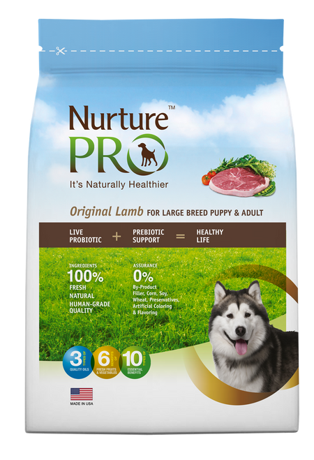 Nurture Pro Original Lamb for Large Breed Puppy & Adult Dog