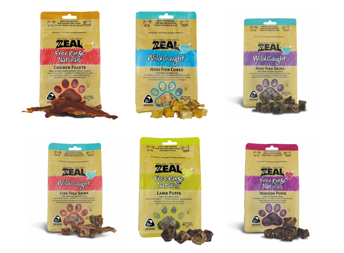 Zeal Cat & Dog Treat Pouches