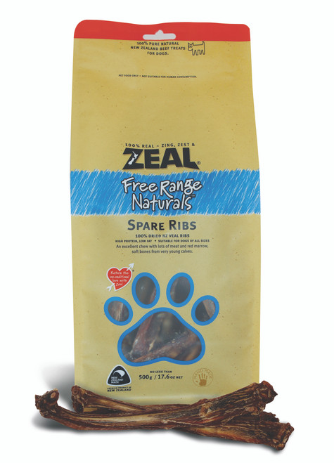 Zeal Spare Ribs Dog Treat Pouches
