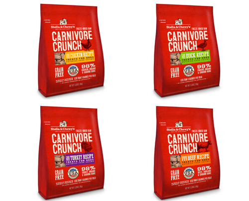 Stella and Chewy's Carnivore Crunch Treats