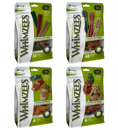 Whimzees Dental Treats Value Bags